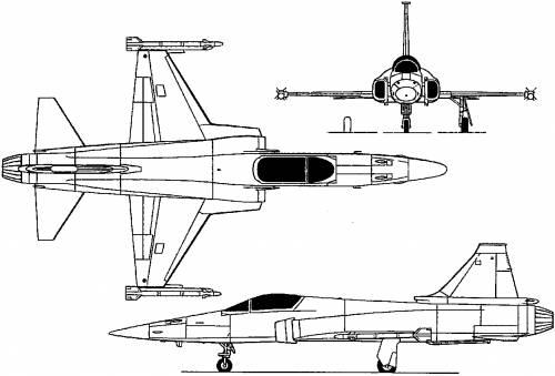 Northrop F-20 Tigershark (USA) (1982)