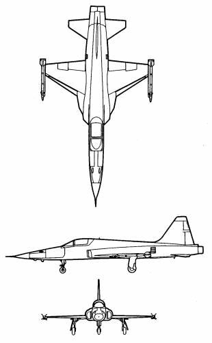 Northrop F-5