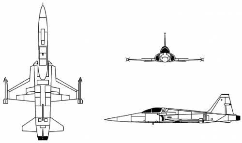 Northrop F-5 Freedom Fighter Tiger II
