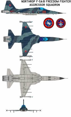 Northrop F-5AB Freedom Fighter