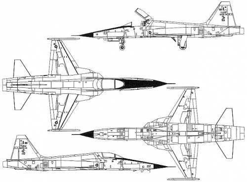 Northrop F-5E-Tiger-II