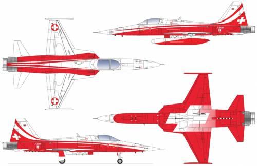 Northrop F-5E Tigher ll