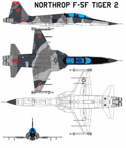 Northrop F-5F Tiger 2