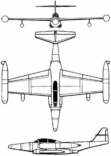 Northrop F-89 Scorpion (USA) (1948)