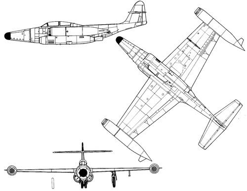 Northrop F-89D Scorpion