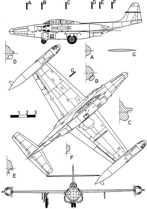 Northrop F-89H Scorpion