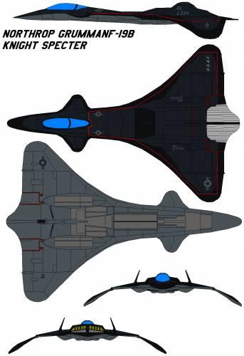 Northrop Grumman F-19B knight Specter