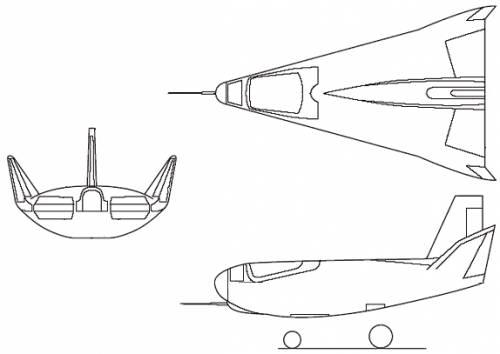 Northrop HL-10 (USA) (1966)