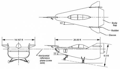 Northrop M2-F1 (USA) (1963)