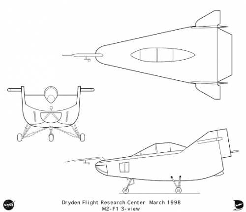 Northrop M2-F2