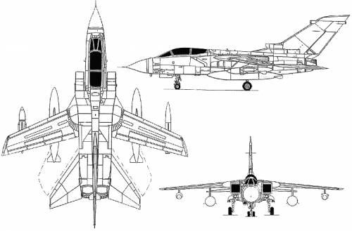 Panavia Tornado ADV Tornado GR 1
