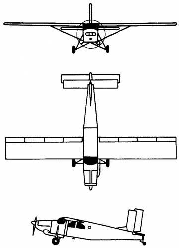Pilatus PC-6 Porter, Turbo-Porter (Switzerland) (1959)