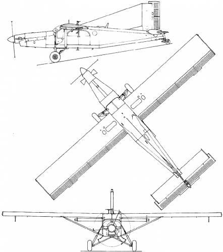 Pilatus PC-6 Turbo Porter