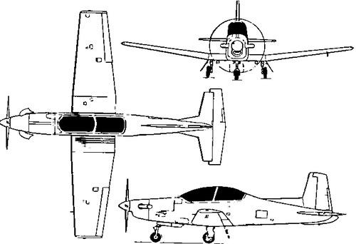 Pilatus PC-9 Turbo Trainer
