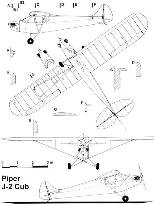 Piper Cub J-2