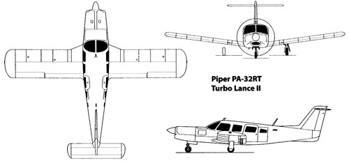 Piper PA-32RT-300T Turbo Lance II