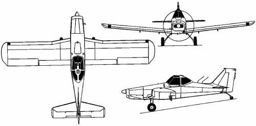 Piper PA-36 Pawnee Brave (USA) (1972)