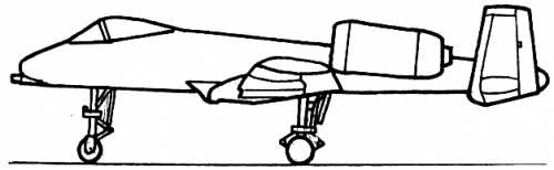 Republic A-10A Thunderbolt II