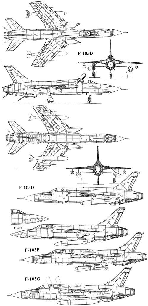 Republic F-105 Thunderchief [5]