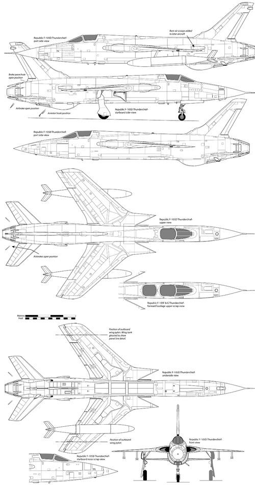 Republic F-105 Thunderchief [6]
