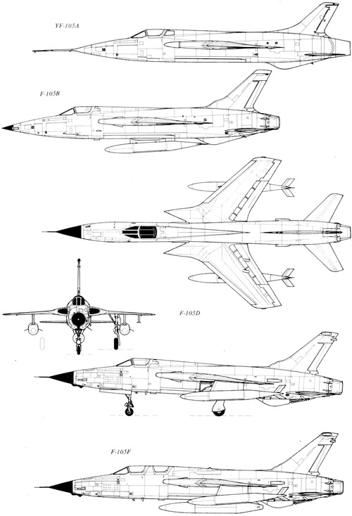 Republic F-105 Thunderchief [7]