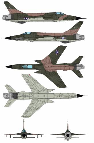 Republic F-105A Thunderchief
