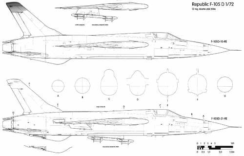 Republic F-105D Thunderchief