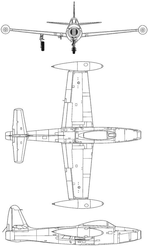Republic F-84B Thunderjet