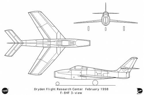 Republic F-84F