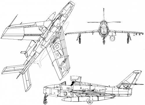 Republic F-84F Thunderstreak