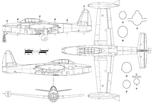 Republic F-84G Thunderjet