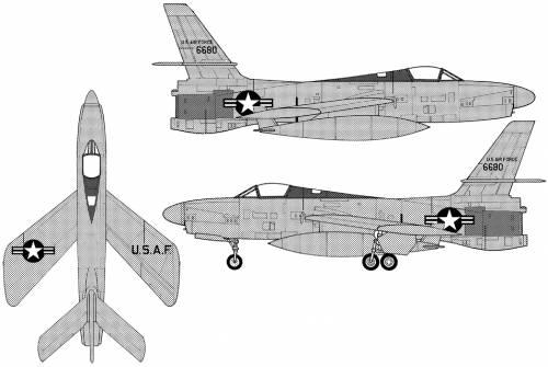 Republic XF-91 III Thunderceptor