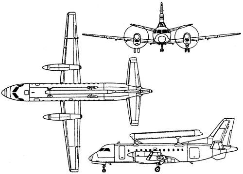SAAB 340 S-100 Argus