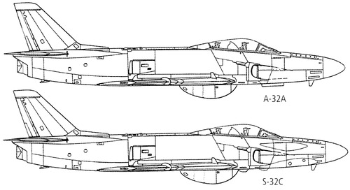 SAAB A-32 Lansen