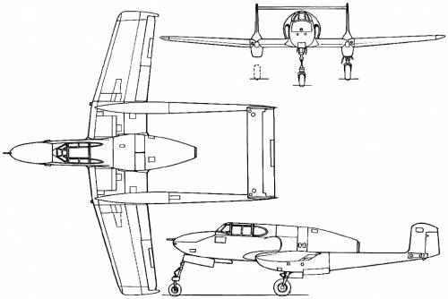SAAB J 21R (Sweden) (1947)