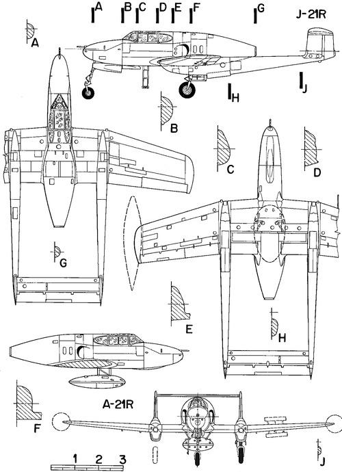 SAAB J 21RA