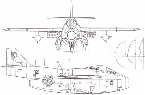 SAAB J 29 Tunnan