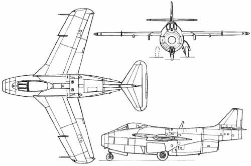 SAAB J 29 Tunnan (Sweden) (1948)