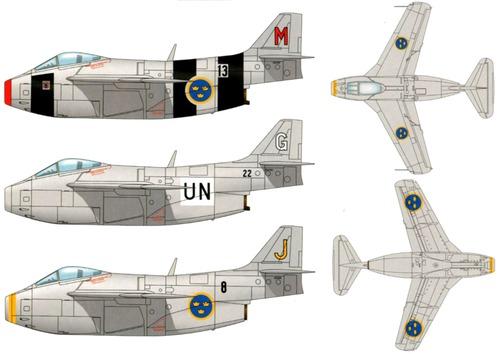 SAAB J 29A Tunnan