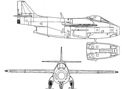 SAAB J 29F Tunnan