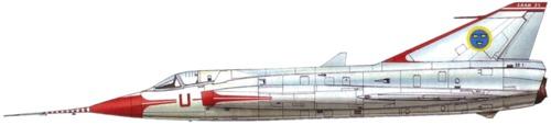 SAAB J 35-1 Draken