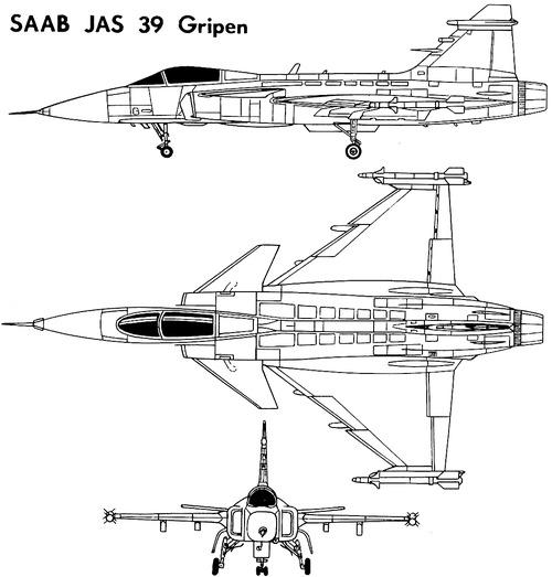 SAAB JAS-39 Grippen