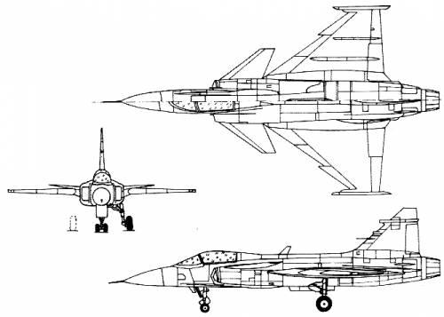 SAAB JAS-39A Grippen