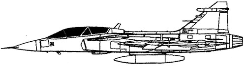 SAAB JAS-39B Grippen
