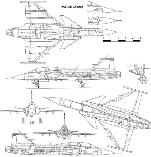 SAAB JAS 39D Gripen