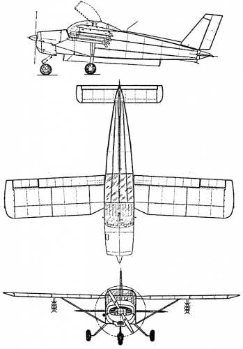 SAAB MFI-9 Militainer