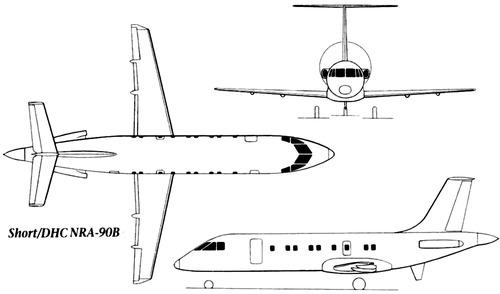 Short-DHC NRA-90B