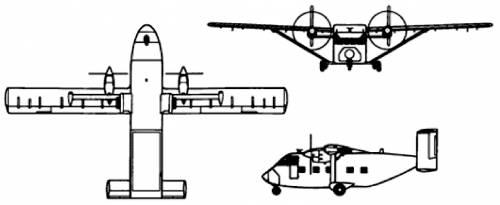 Short Skyvan 3M