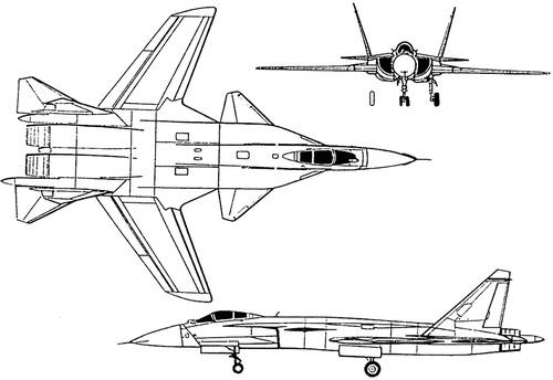 Sukhoi S-37 Berkut