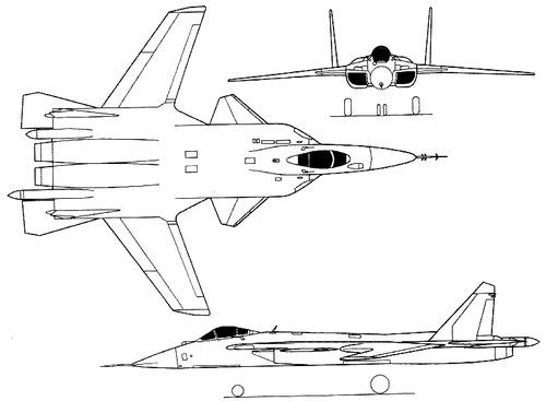Sukhoi S-37 Flanker
